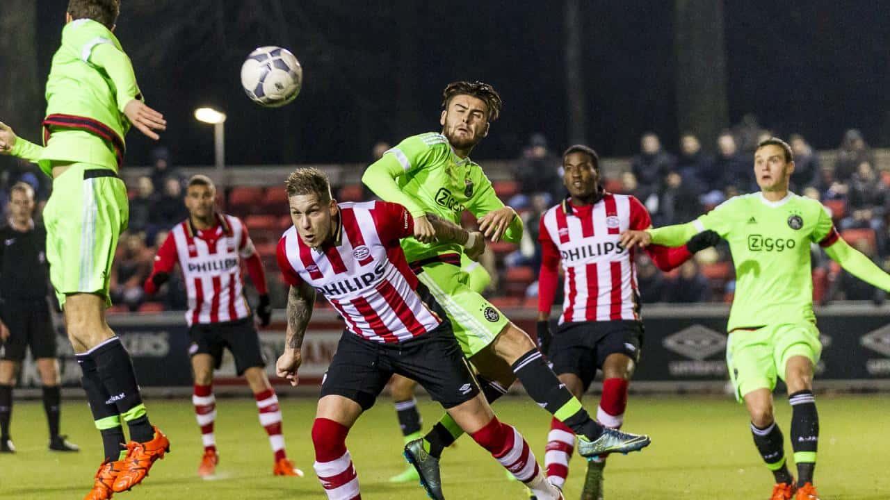 Ponturi fotbal Jong Ajax - Jong PSV Eerste Divisie