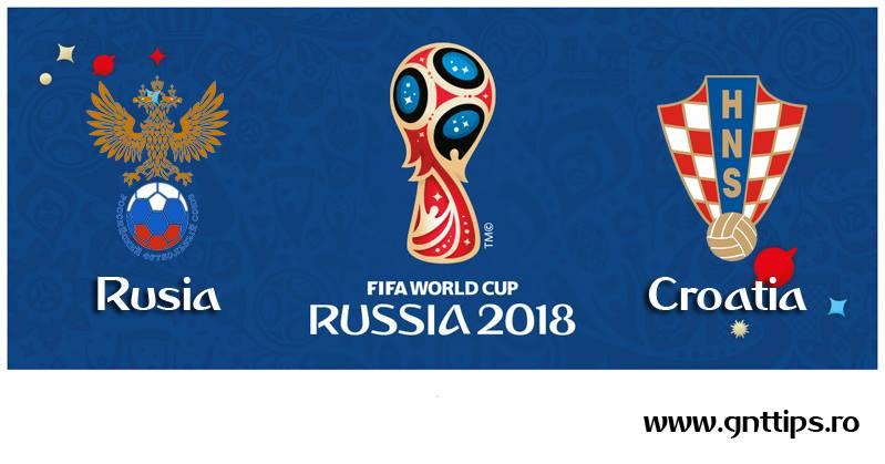 Ponturi fotbal - Rusia - Croatia - Campionatul Mondial - Sferturi - 07.07.2018