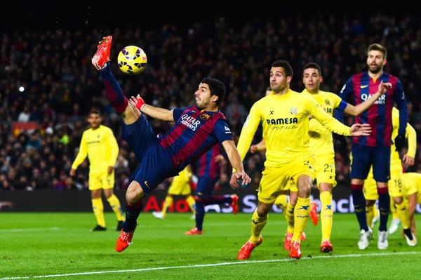 victoria oaspetilor in Villareal vs Barcelona
