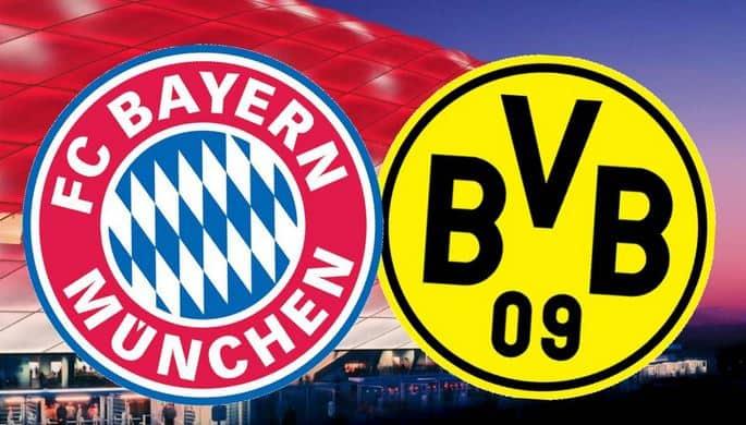 Bayern vs Dortmund oferta la pariuri
