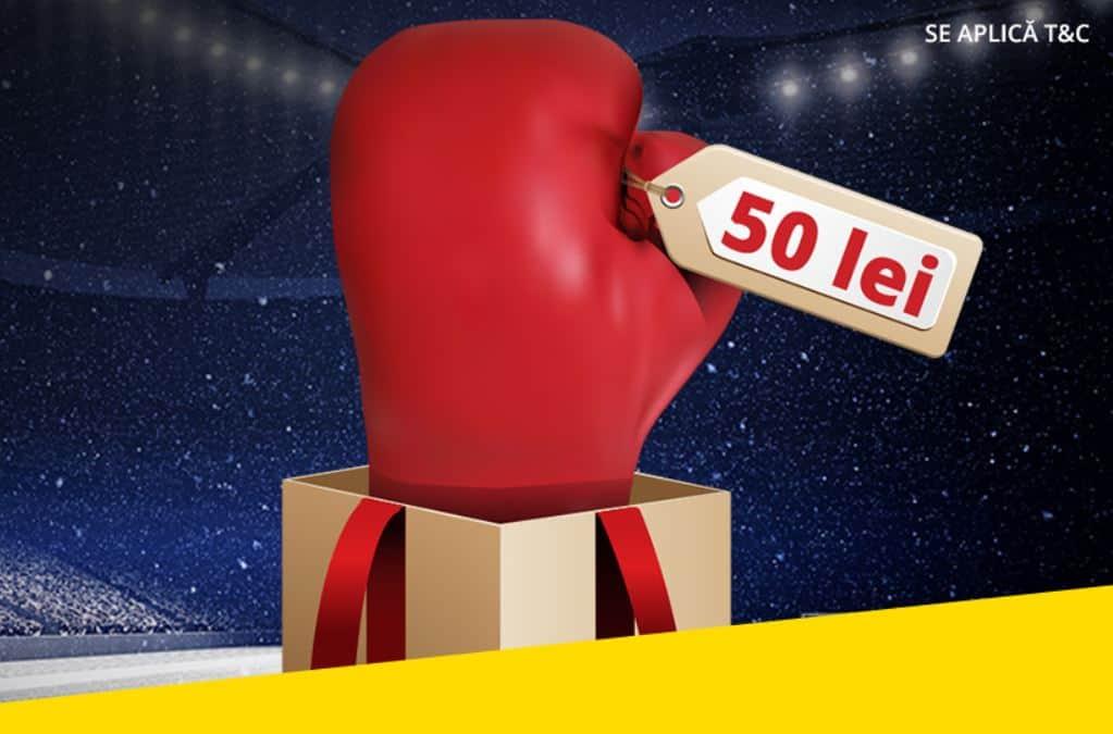 Obtine 50 RON Bonus la pariuri pana la finalul anului!