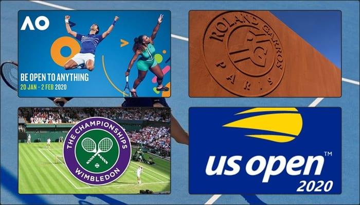 Programul celor 4 turnee de Grand Slam 2020