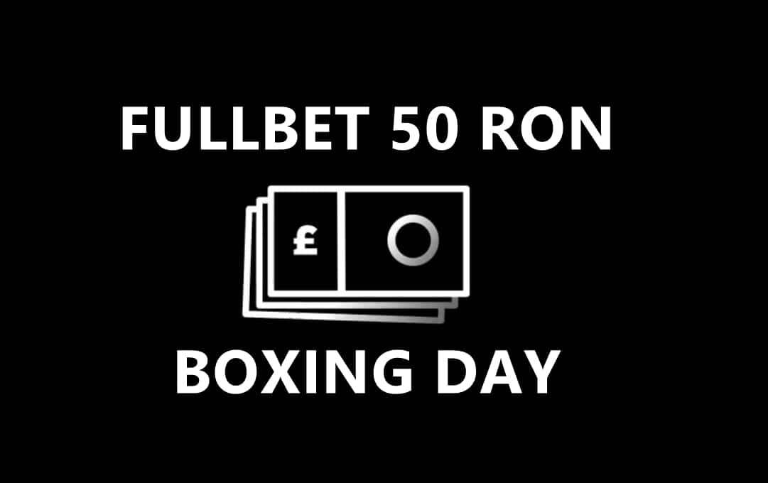 Promotii pariuri Boxing Day