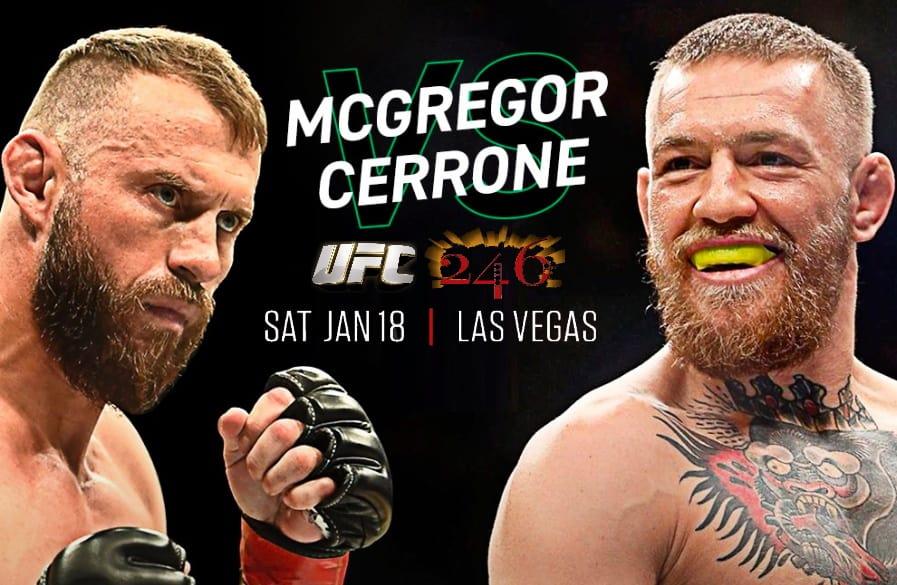 Conor McGregor vs Donald Cerrone: UFC 246
