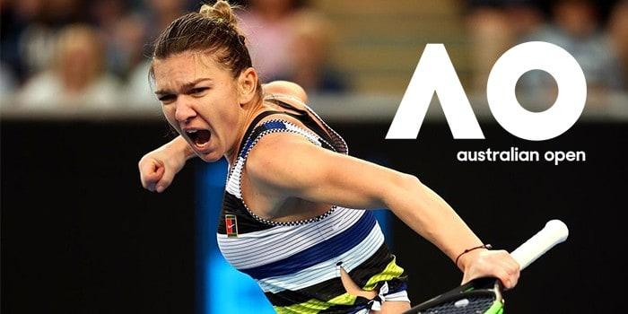 Simona Halep la Australian Open 2020