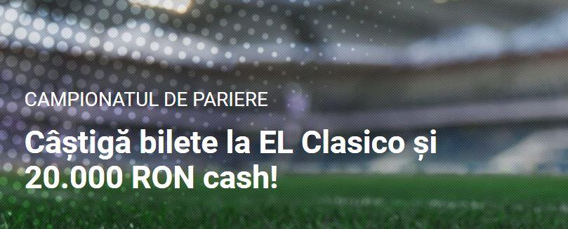 Bilete gratis la El Clasico 2020