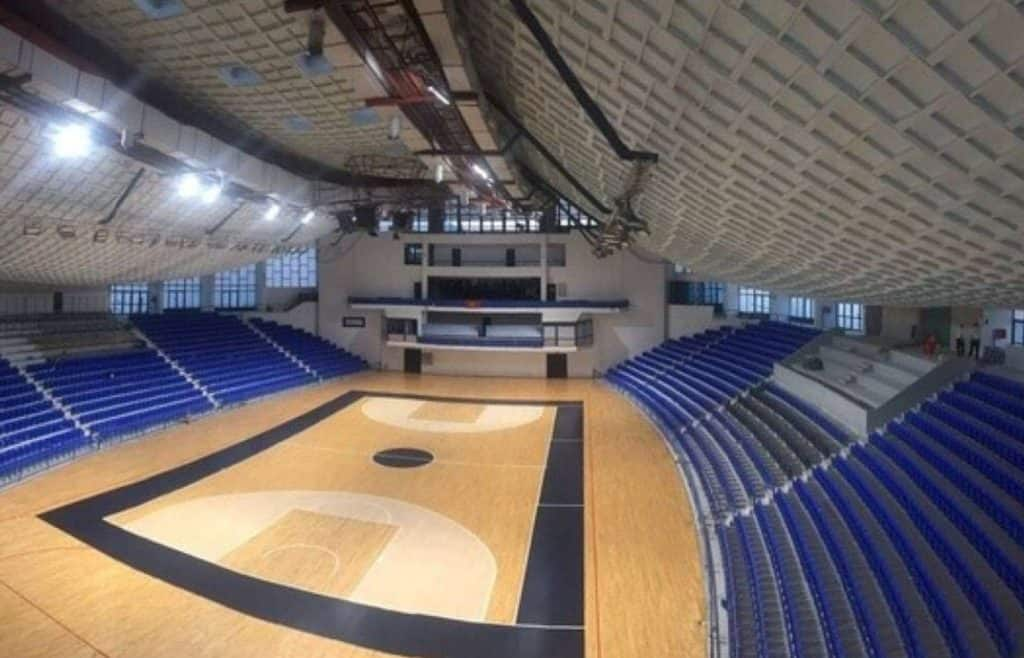 Sala in care va juca Romania la turneul preolimpic