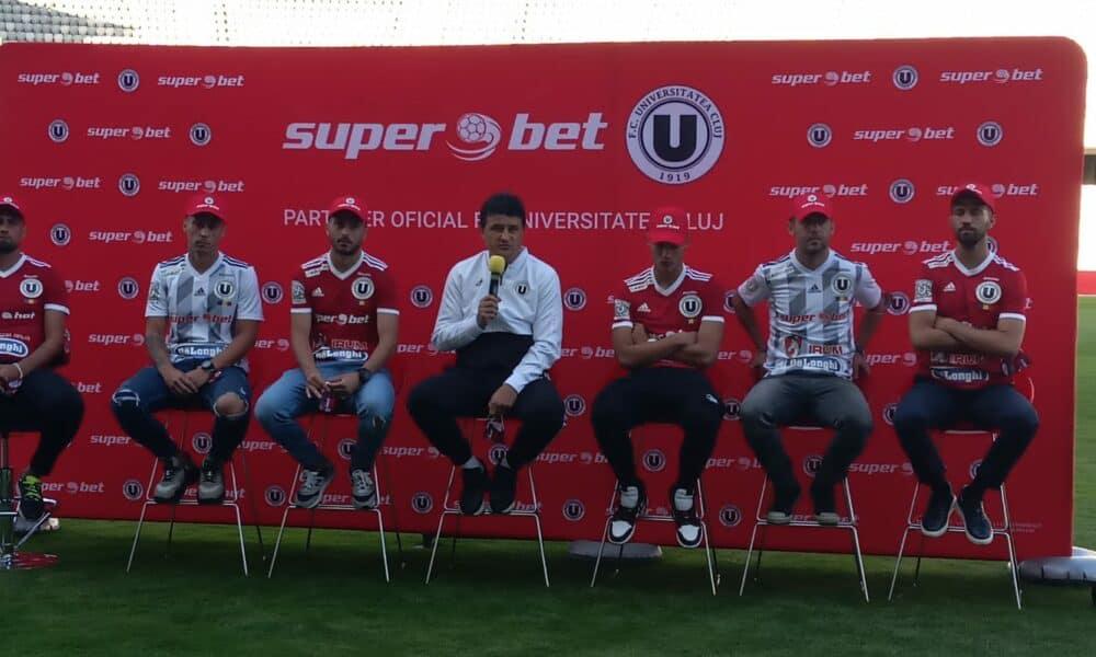 "Superbet - noul partener ""U"" Cluj in sezonul 2020/2021"