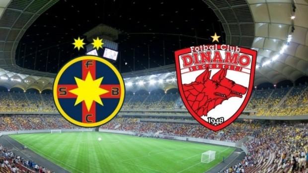 FCSB vs Dinamo Bucuresti derby in Liga 1: cote si pariuri speciale