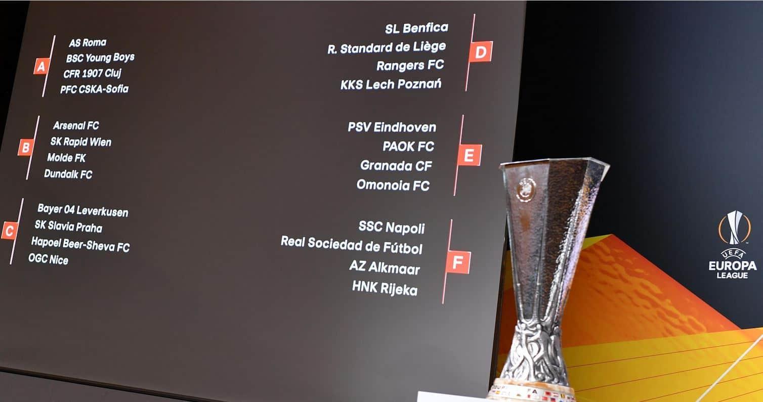 Favoritele & grupele Europa League 2020/2021
