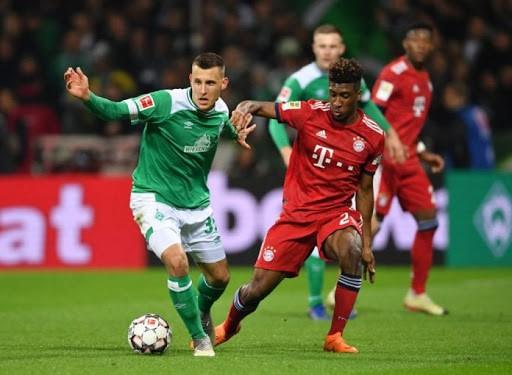 ponturi pariuri fotbal werder vs bayern munchen - bundesliga