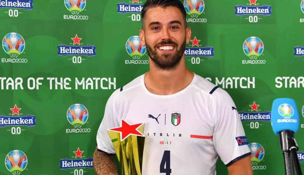 Spinazzola, primul star al meciului la EURO 2020