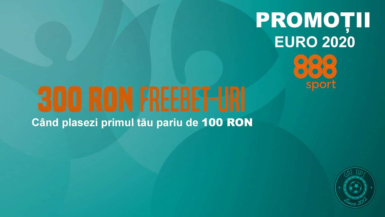 promotie 888 sport 300 ron freebet