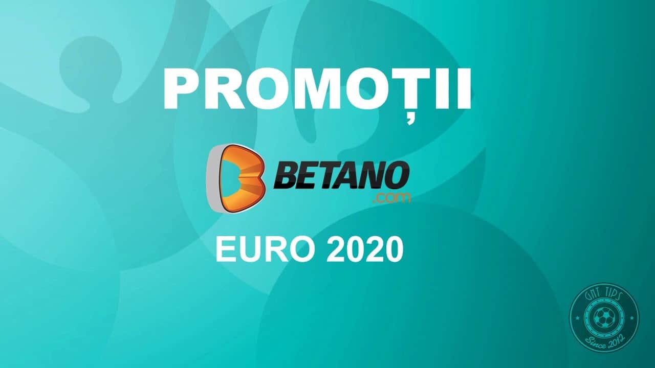 Promotii EURO 2020 Betano