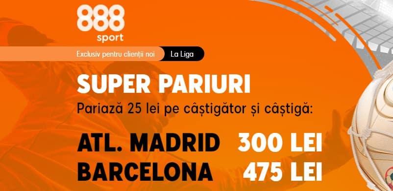 Promotie Atletico Madrid vs Barcelona