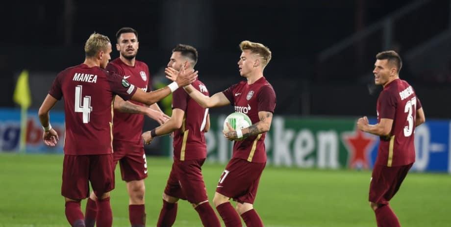 Ponturi CFR Cluj vs Gaz Metan Medias